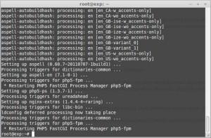 Как установить php-fpm + Php 5.4